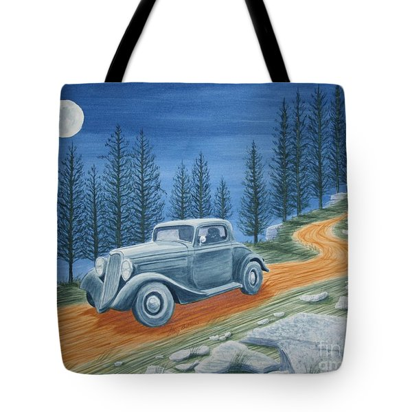 Tote Bag featuring the painting Racing Was Born In North Carolina by Stacy C Bottoms