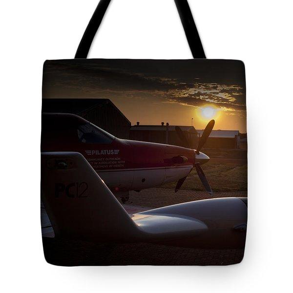 Radar Wing Tote Bag by Paul Job