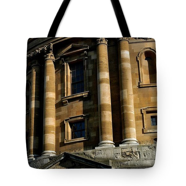 Radcliffe Camera Tote Bag by Joseph Yarbrough