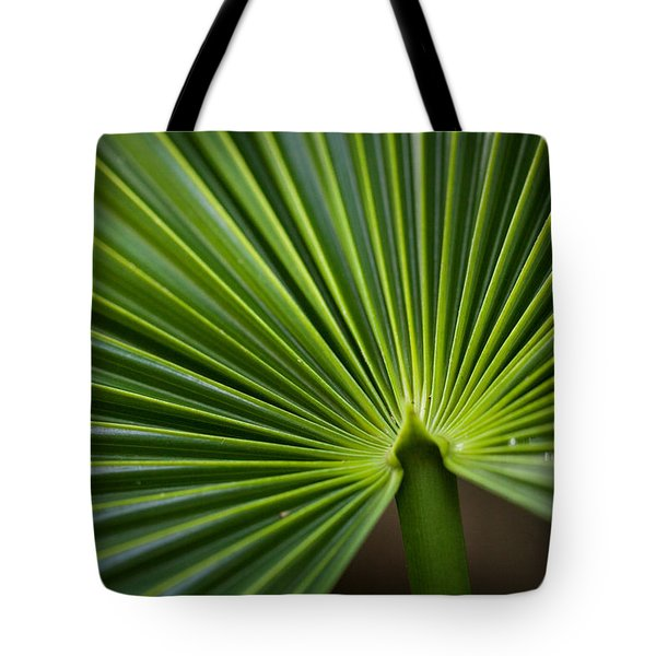 Radial Greens Tote Bag