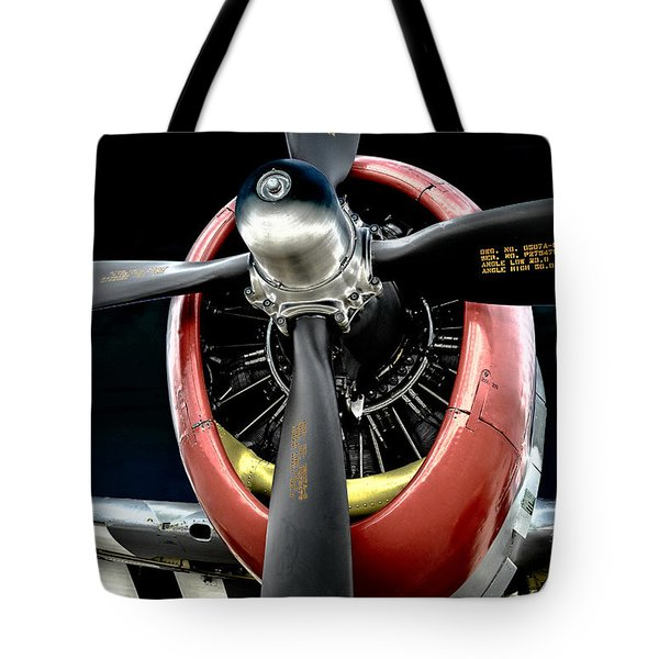 Radial Power Tote Bag
