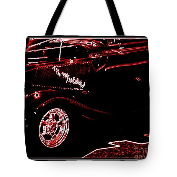 Tote Bag featuring the digital art Radiance by Bobbee Rickard