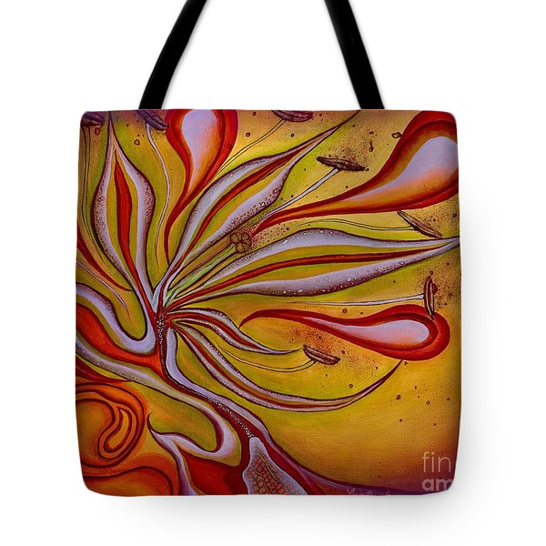 Radiance Of Purpose Tote Bag