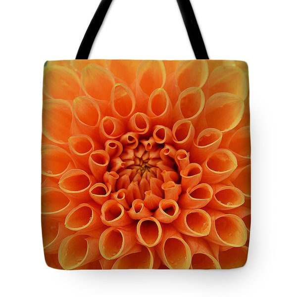 Radiant Tote Bag by Felicia Tica