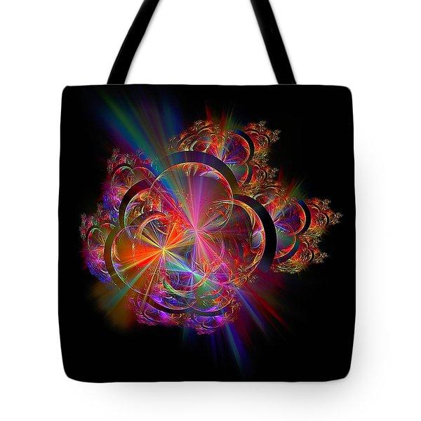 Radiant Rings Tote Bag