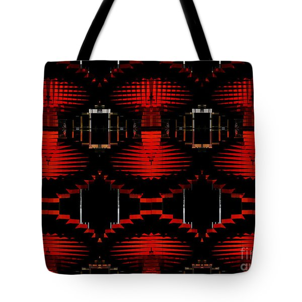 Tote Bag featuring the photograph Radiation Dna Glow by Clayton Bruster