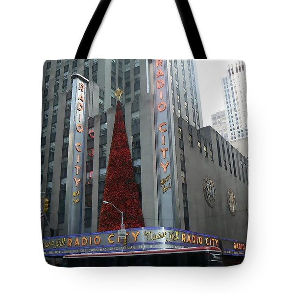 Radio City Christmas Tote Bag