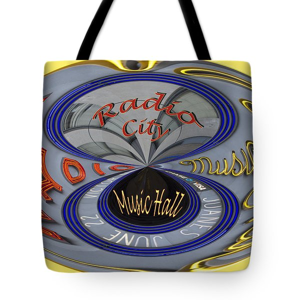 Radio City Tote Bag by Jean Noren