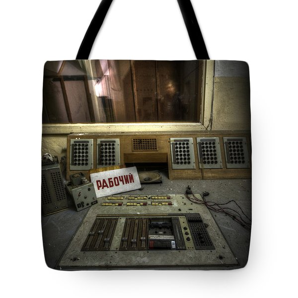 Radio Soviet One Tote Bag by Nathan Wright