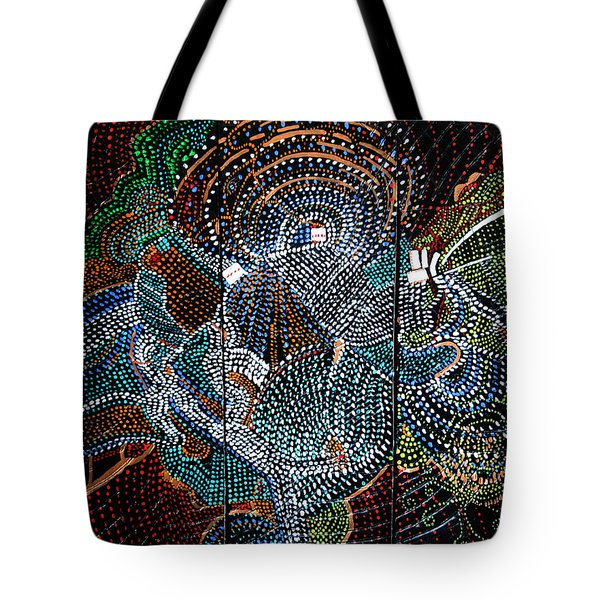 Radiohead Tote Bag by Gloria Ssali