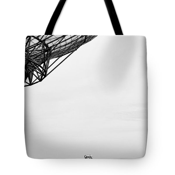 Radiotelescope Antennas.  Tote Bag