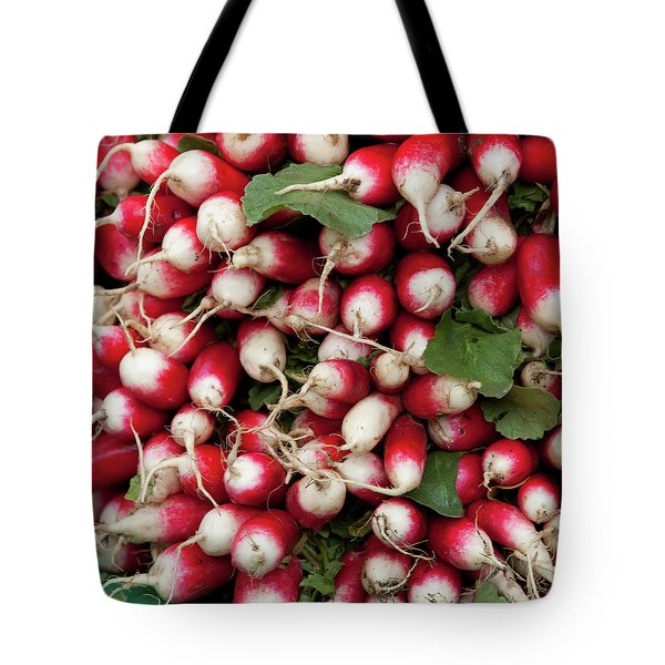 Radish Stack Tote Bag by Art Block Collections