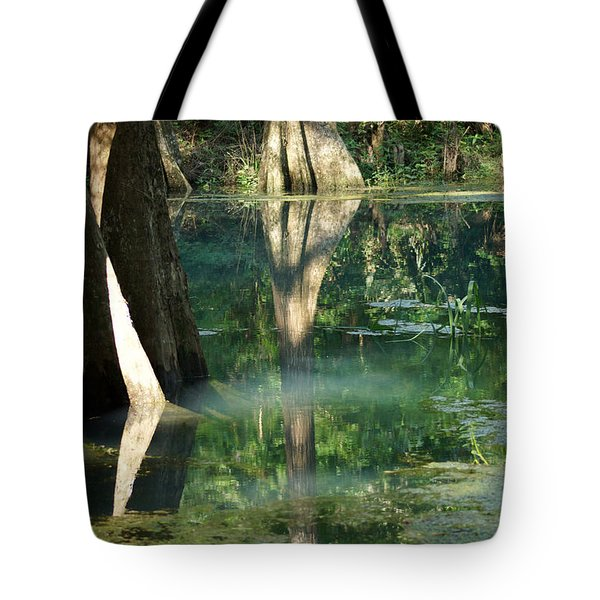 Radium Springs Creek In The Summertime Tote Bag