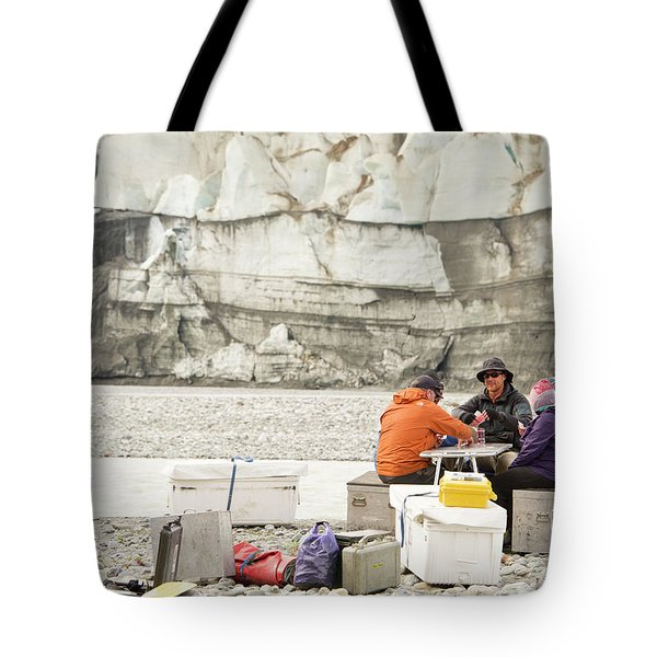 Rafters Playing Cards While Waiting Tote Bag