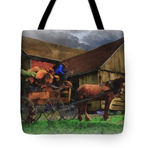 Rag Man Tote Bag by William Sargent