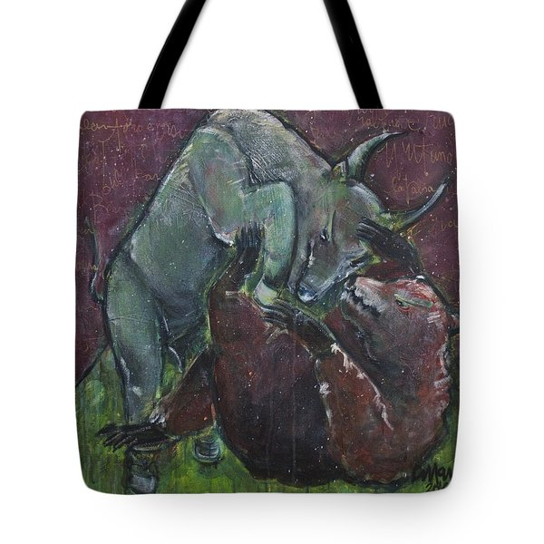 Rage And Roar Tote Bag