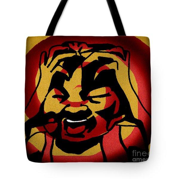 Rage Tote Bag by Samantha Geernaert