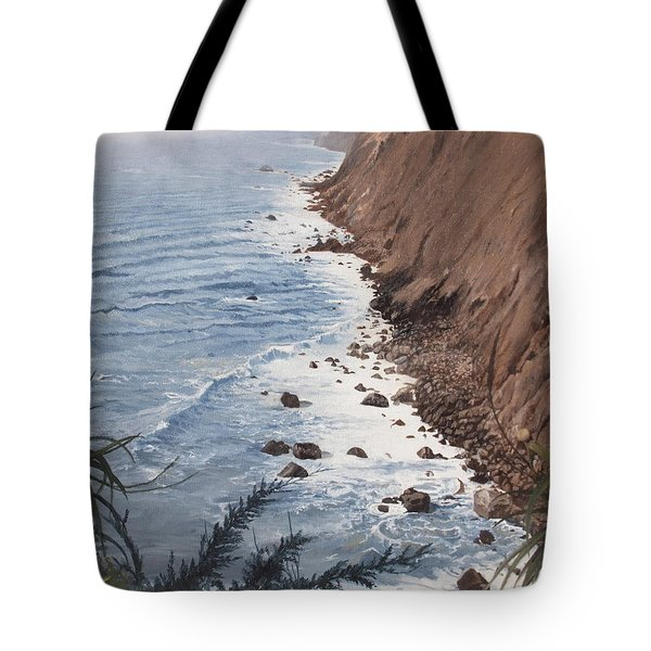 Ragged Point California Tote Bag