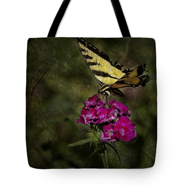 Ragged Wings Tote Bag