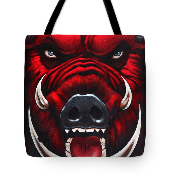 Raging Hog Tote Bag