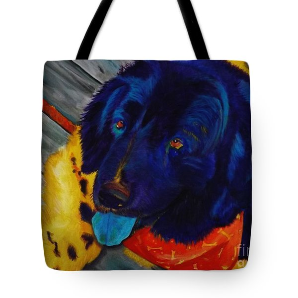 Raider's Portrait Tote Bag
