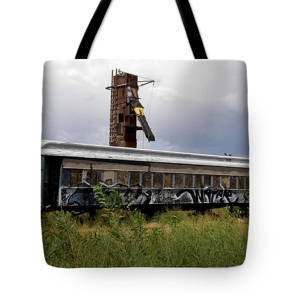 #ishalltakethisunboundtrainaway Tote Bag