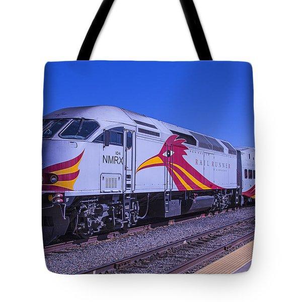 Rail Runner Santa Fe Tote Bag