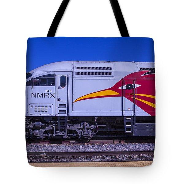 Rail Runner Train Tote Bag