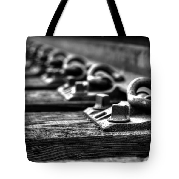 Rail Tie Tote Bag