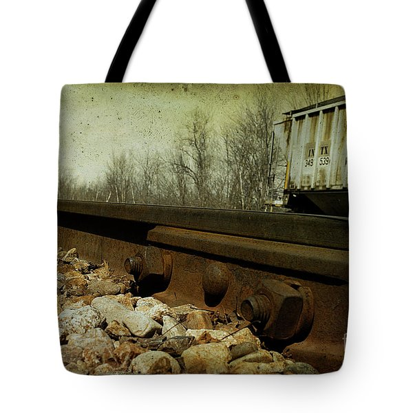 Railroad Bolts Tote Bag