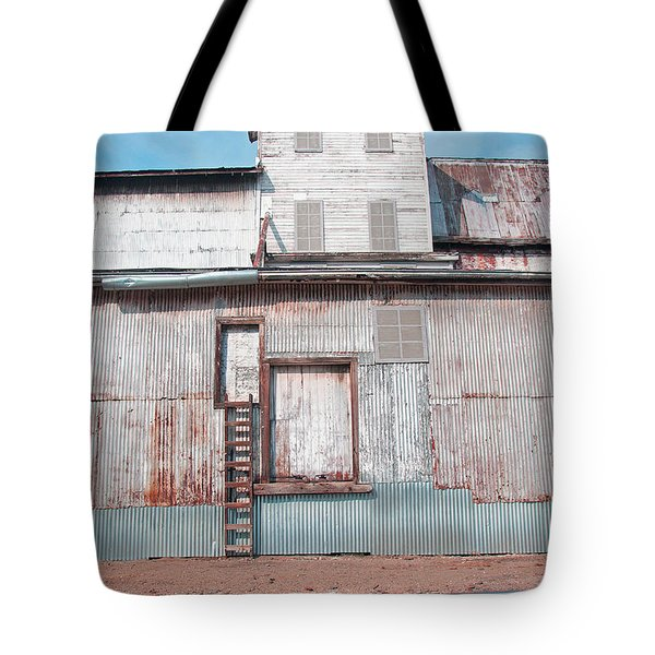 Railroad To The Past Tote Bag