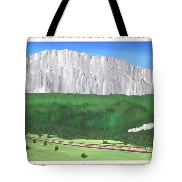 Railway Adventure Tote Bag by Ron Davidson