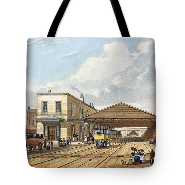 Railway Office, Liverpool, Plate 8 Tote Bag