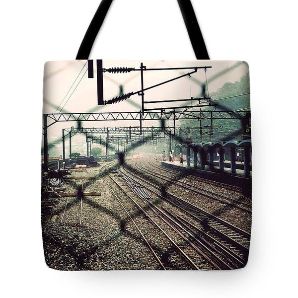 Railway Station Tote Bag by Yew Kwang