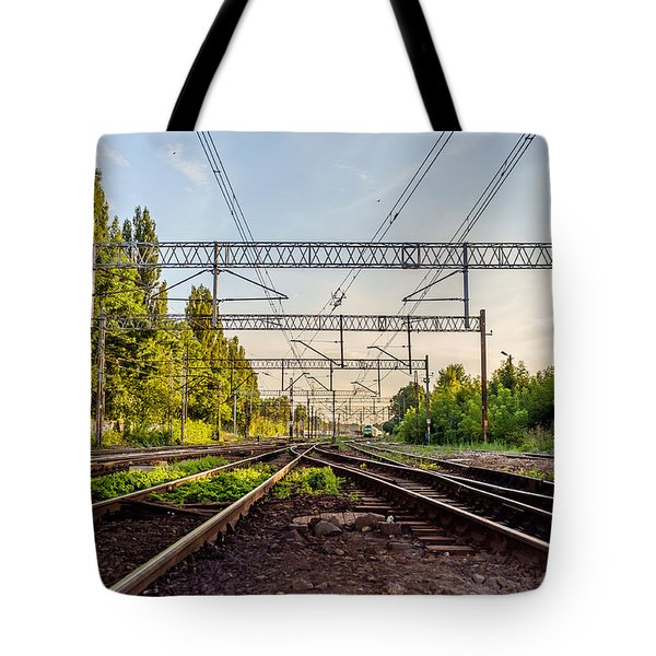 Railway To Nowhere Tote Bag