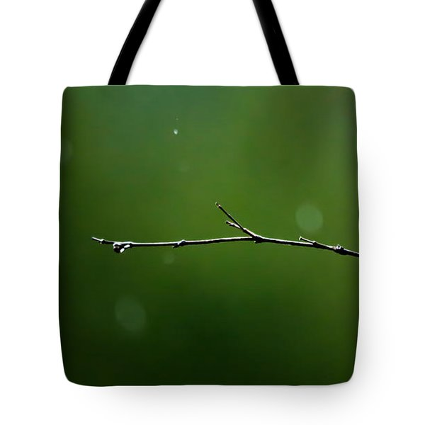 Rain Bokeh Tote Bag by Shelby  Young