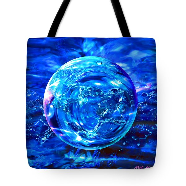 Tote Bag featuring the painting Rain Dance  by Robin Moline