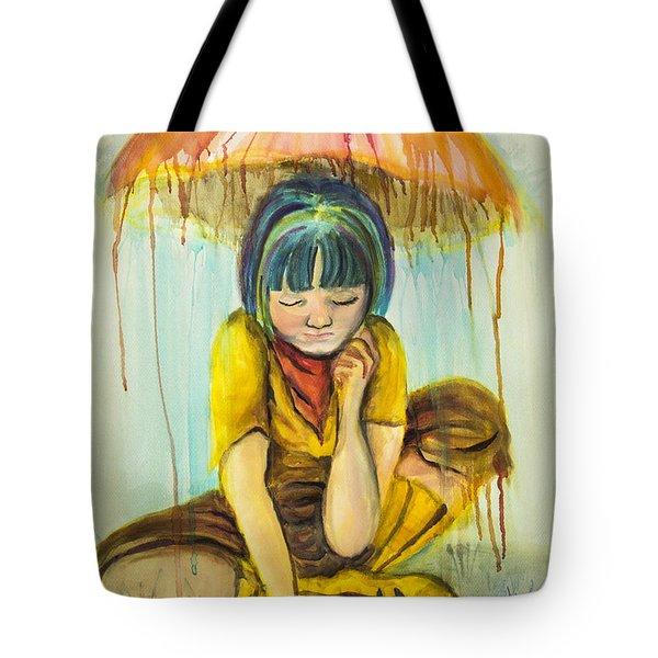 Rain Day  Tote Bag