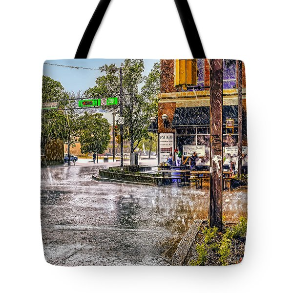 Rainy Day. Tote Bag