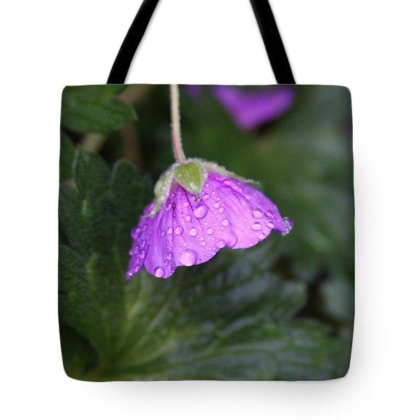 Rain Kissed Tote Bag by Lynn-Marie Gildersleeve