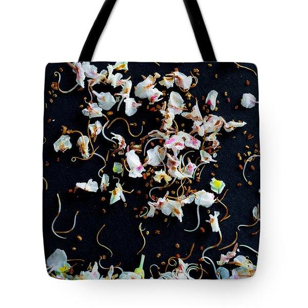 Rain Of Petals Tote Bag by Edgar Laureano