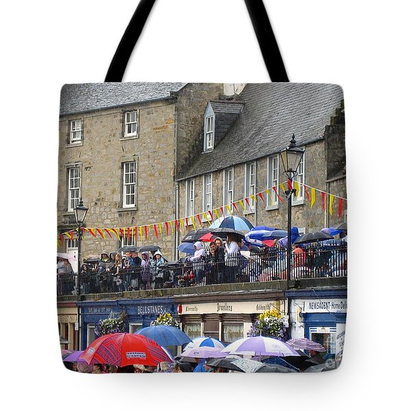 Rain On The Parade Tote Bag by Suzanne Oesterling