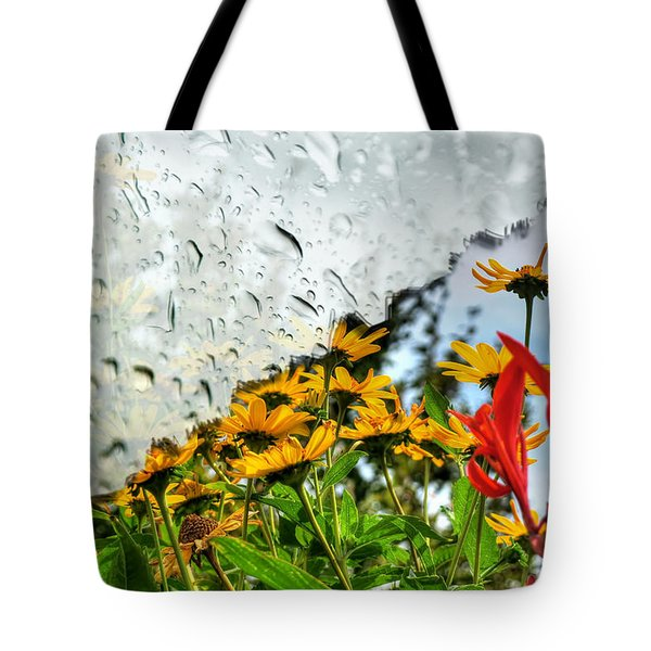Rain Rain Go Away... Tote Bag