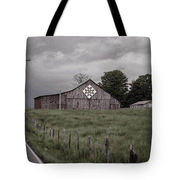 Rain Rolling In Tote Bag by Heather Applegate