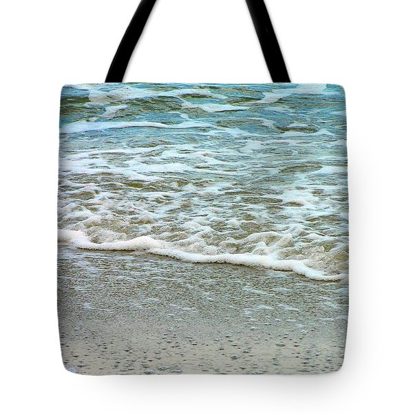 Rain Sea  Tote Bag