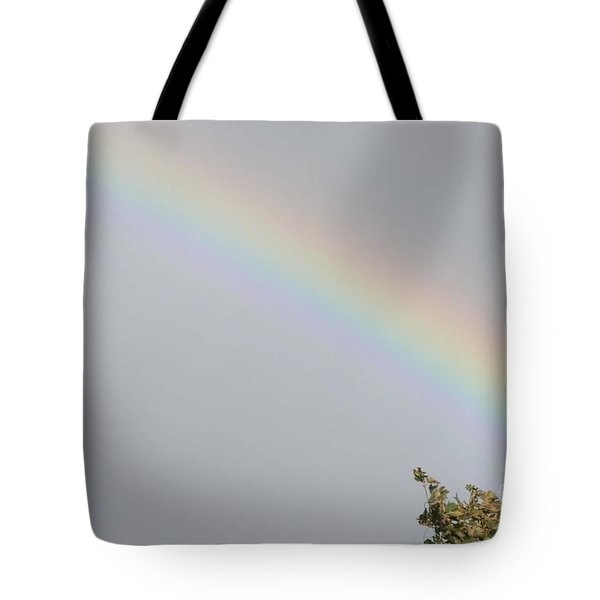 Rainbow After The Rain Tote Bag by Barbara Griffin