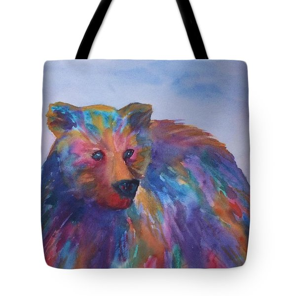Rainbow Bear Tote Bag