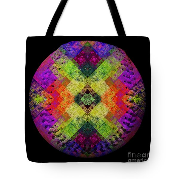 Rainbow Connection Baseball Square Tote Bag by Andee Design