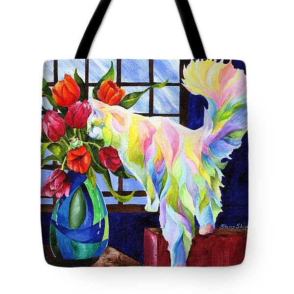 Rainbow Connection Tote Bag