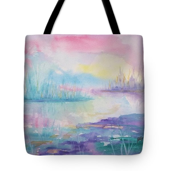 Rainbow Dawn Tote Bag
